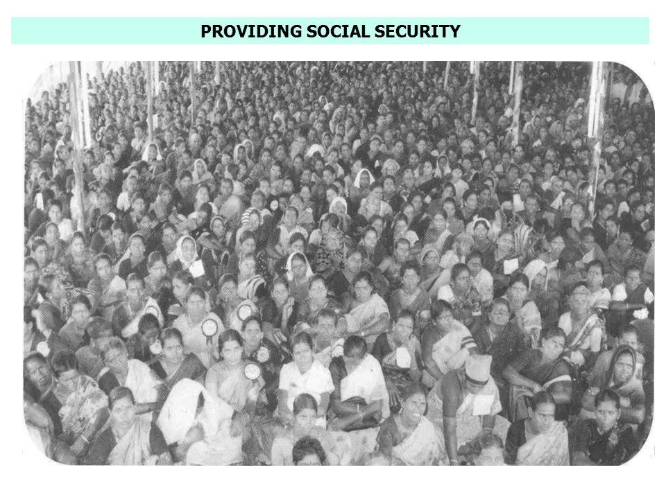 PROVIDING SOCIAL SECURITY