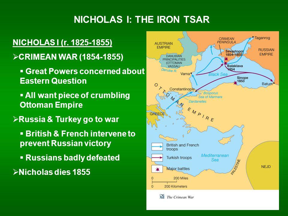 NICHOLAS I: THE IRON TSAR NICHOLAS I (r.