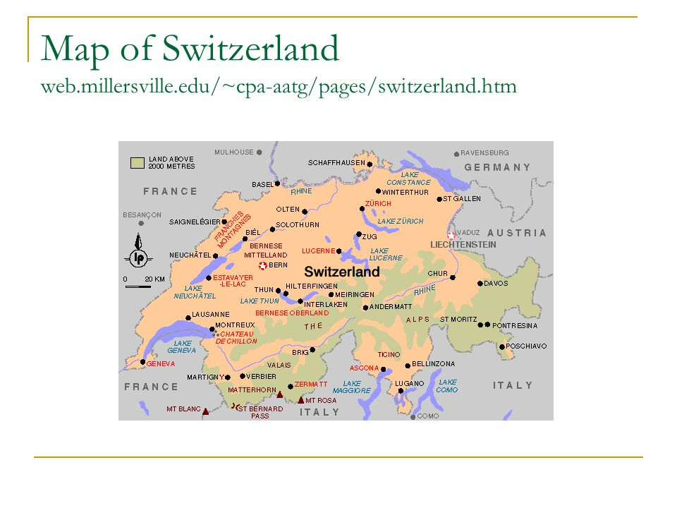Map of Switzerland web.millersville.edu/~cpa-aatg/pages/switzerland.htm