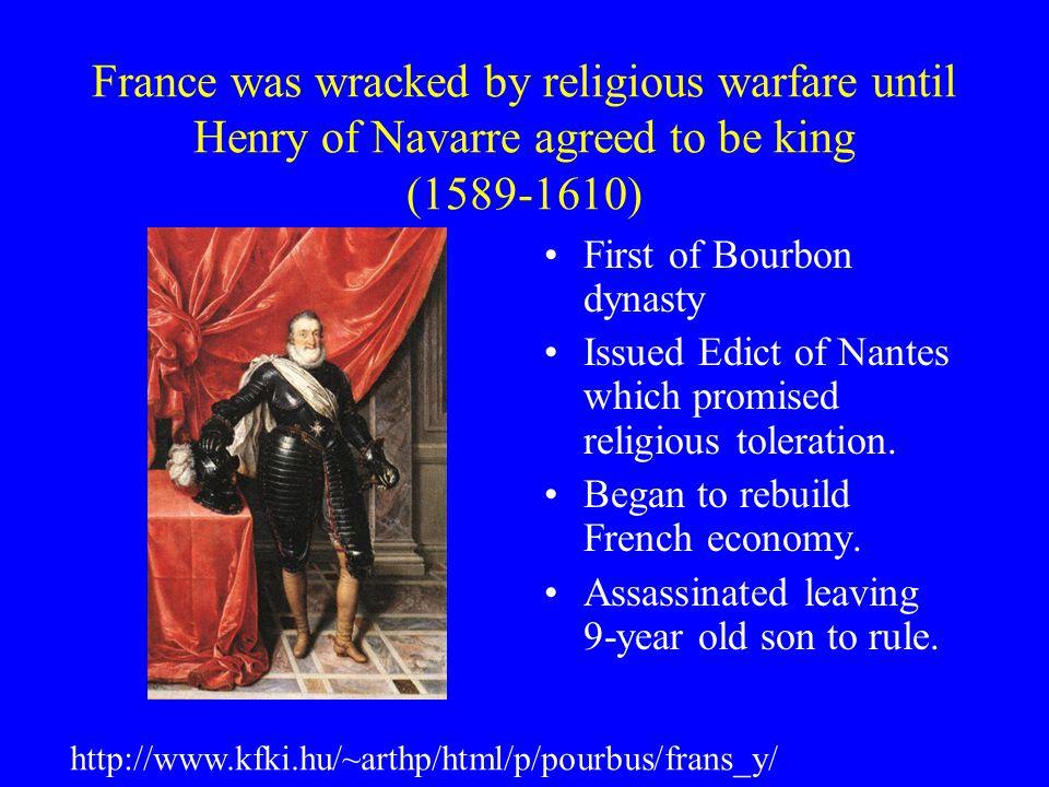 Cardinal Richelieu created a strong monarchy.