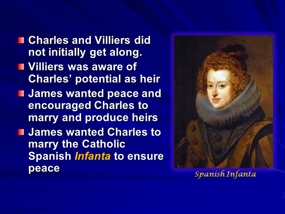 Charles and Villiers did not initially get along.