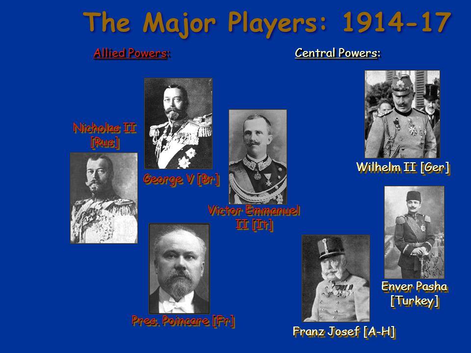 Verdun – February, 1916 e German offensive.e Each side had 500,000 casualties.