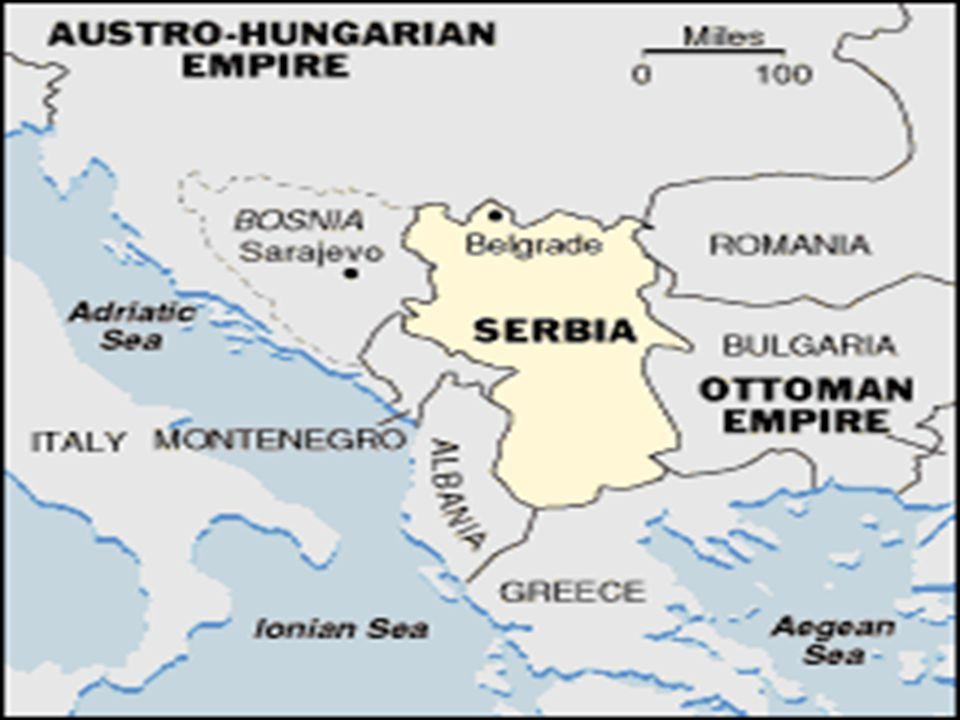 1914 JULY 28 3. Austria-Hungary declares war on Serbia