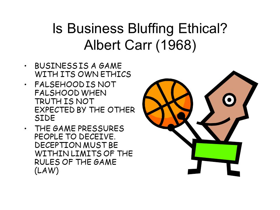 CRITICAL QUESTIONS IS IT APPROPRIATE FOR BUSINESS TO HAVE ITS OWN ETHICAL RULES