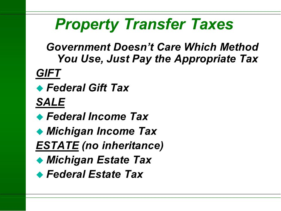 How Do Taxes Affect Your Estate? Roger Betz Michigan State University Extension District Farm Management Agent