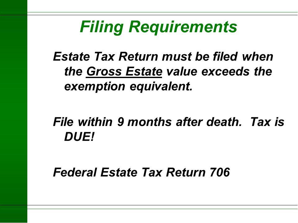 Estate Tax Examples Taxable Estate Tax Paid 1997 2004 $600,000 None None $675,000 $18,500 None $800,000 $75,000 None $1,000,000 $153,000 None $1,350,0