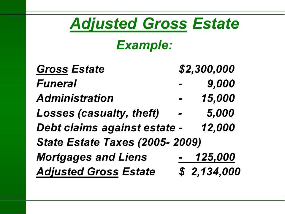 2004 Farm Taxation Example u Land (Basis 400,000) $1,500,000 u Buildings (Basis 50,000) $ 200,000 u Machinery (Basis 100,000) $ 250,000 u Stored Crops