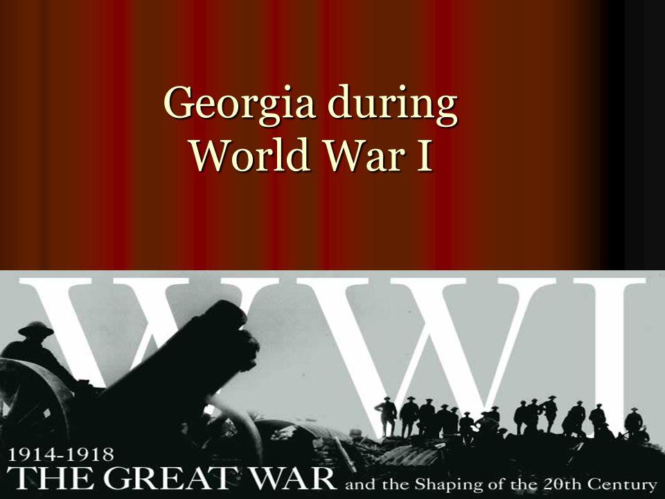 Georgia during World War I