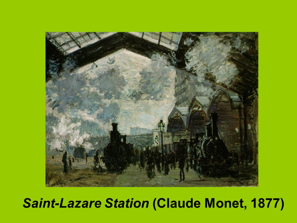 Saint-Lazare Station (Claude Monet, 1877)