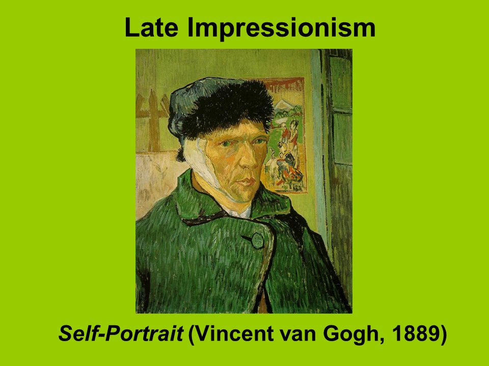 Late Impressionism Self-Portrait (Vincent van Gogh, 1889)