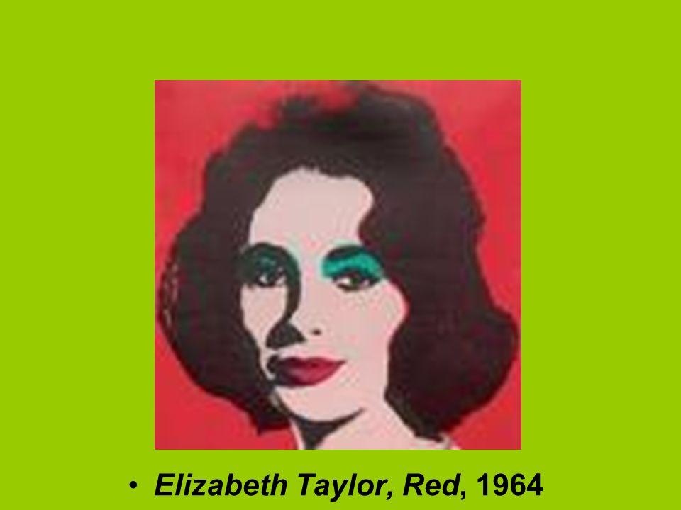 Elizabeth Taylor, Red, 1964