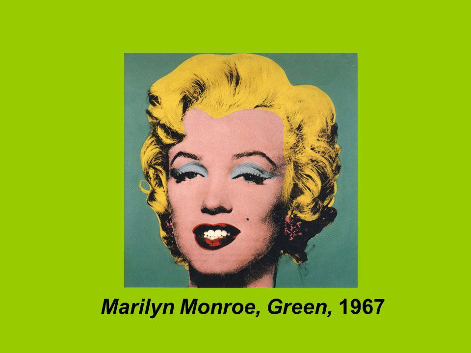 Marilyn Monroe, Green, 1967