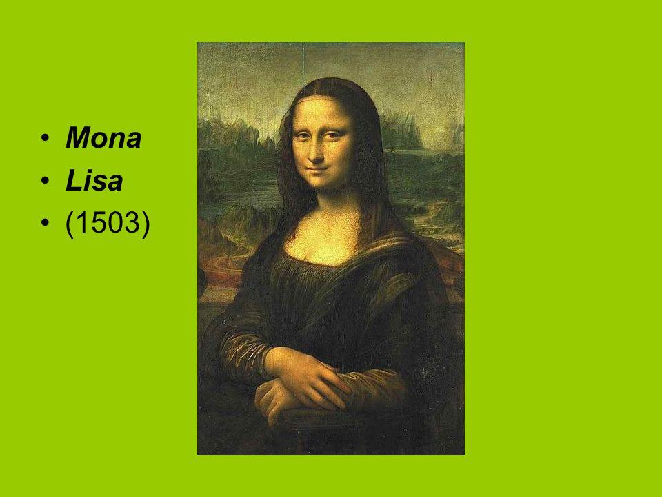 Mona Lisa (1503)