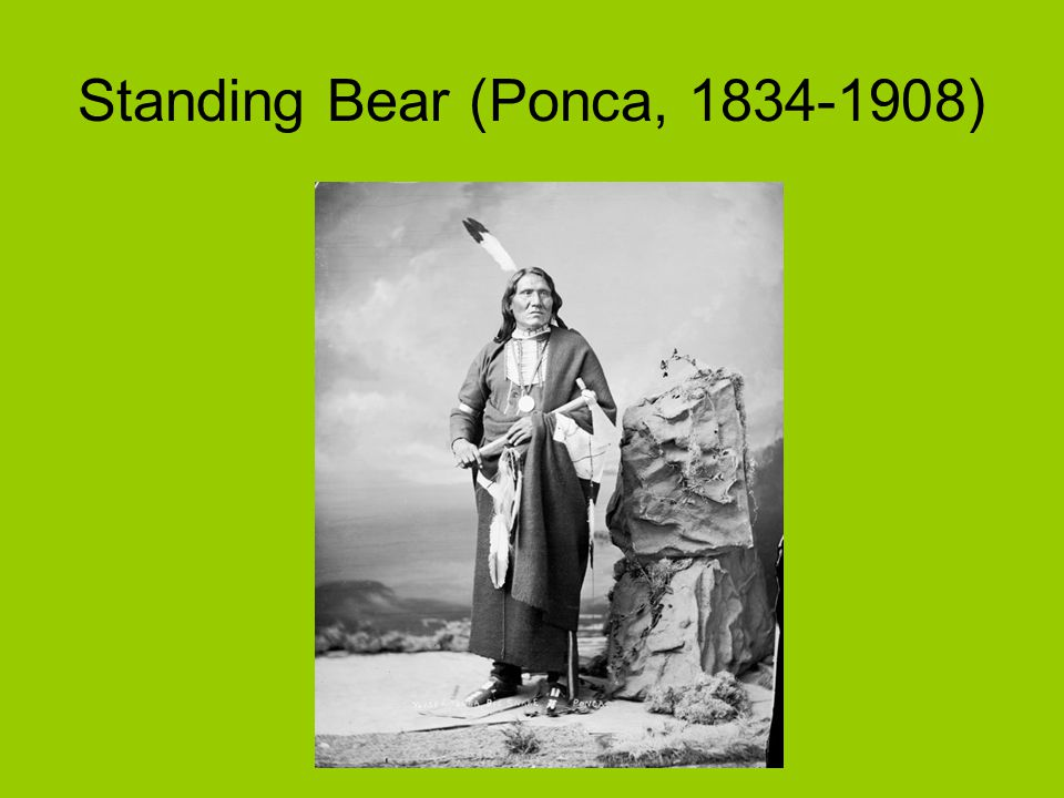 Standing Bear (Ponca, 1834-1908)