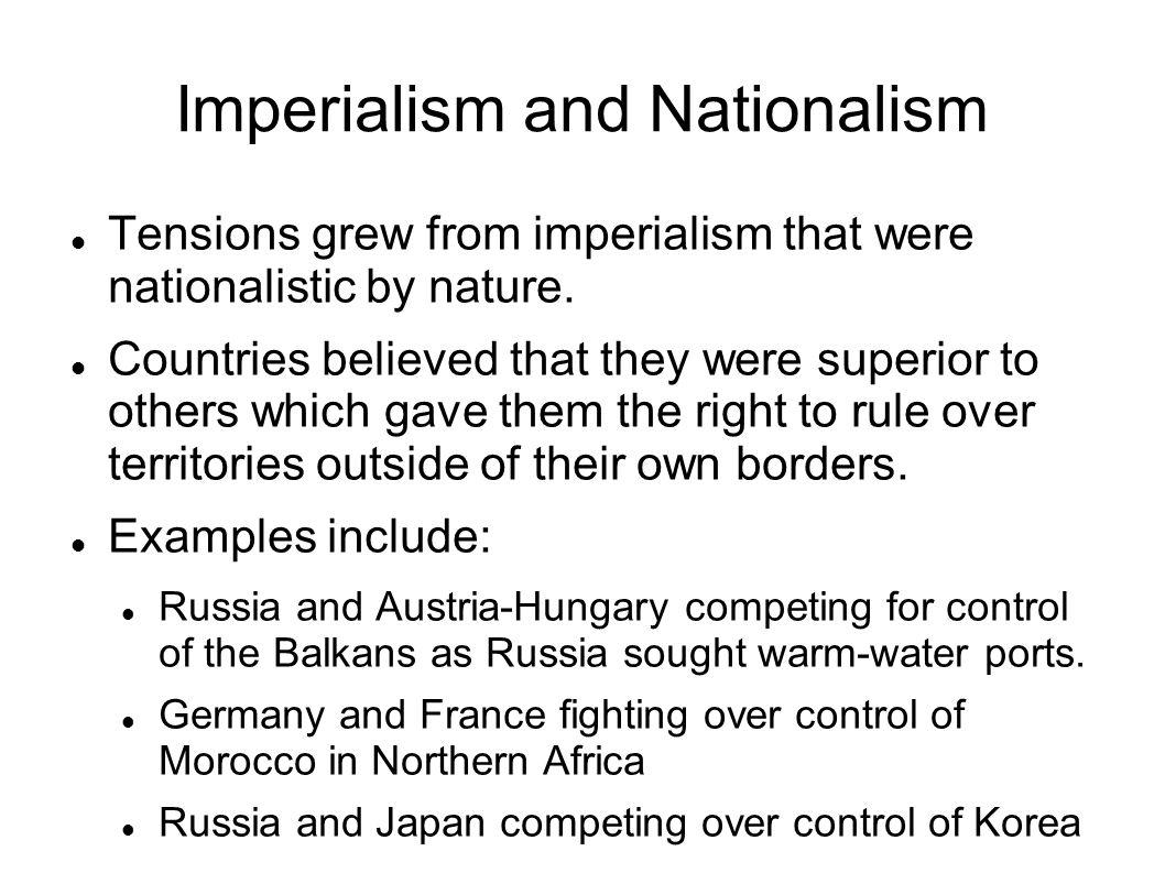 Pan-Slavism and Pan-Germanism Nationalism gave rise to two movements, Pan- Slavism and Pan-Germanism.