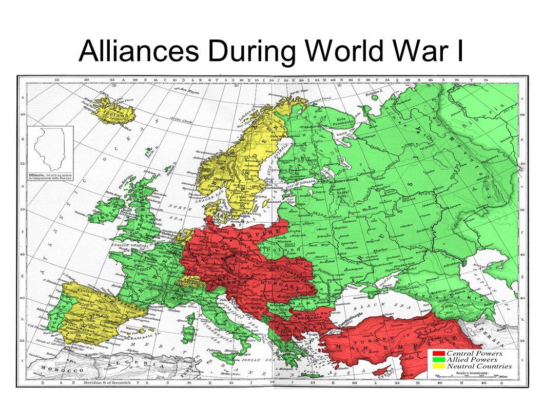 Alliances During World War I