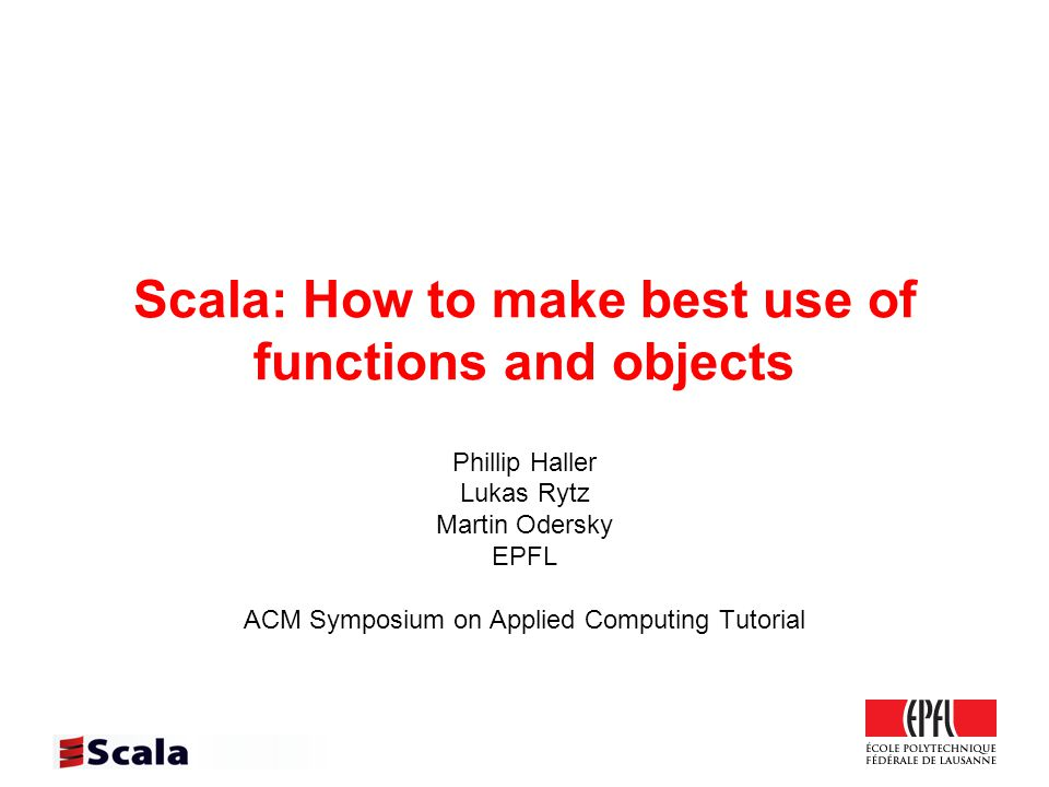 2 Where it comes from Scala has established itself as one of the main alternative languages on the JVM.