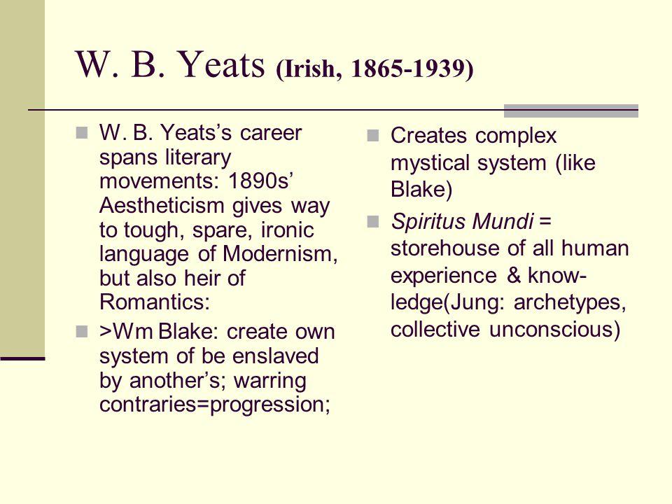 W. B. Yeats (Irish, 1865-1939) W. B.