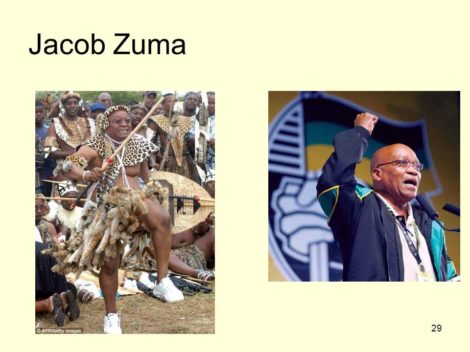 29 Jacob Zuma