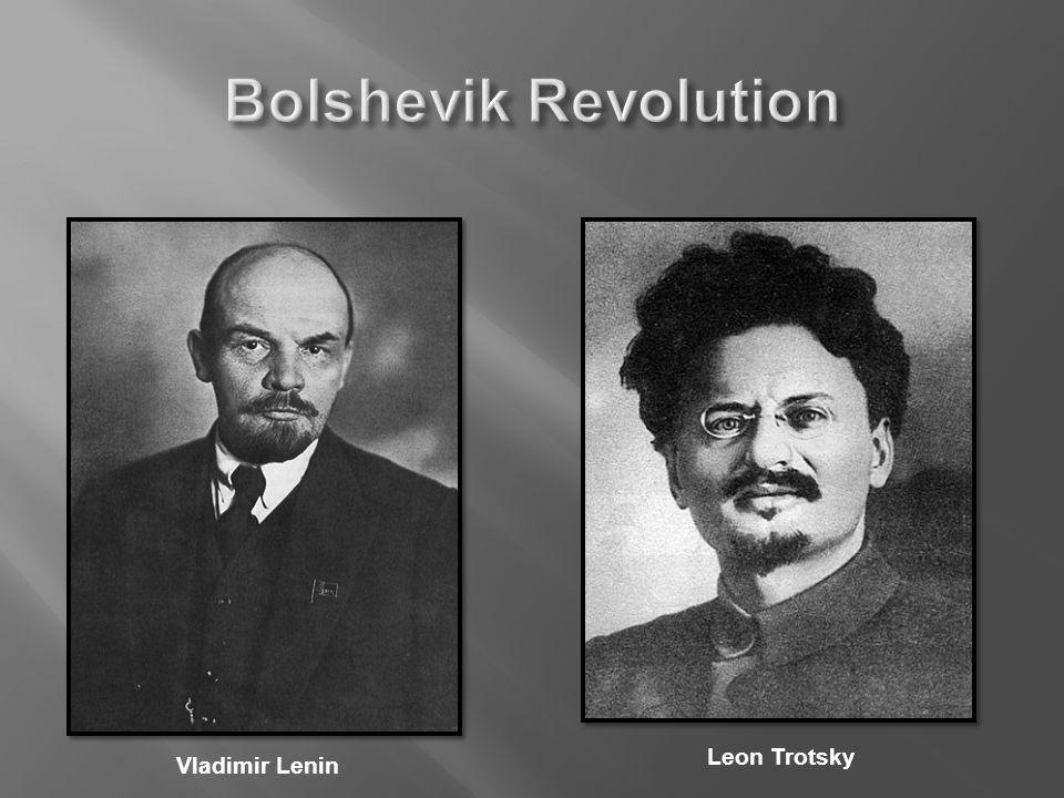 Vladimir Lenin Leon Trotsky