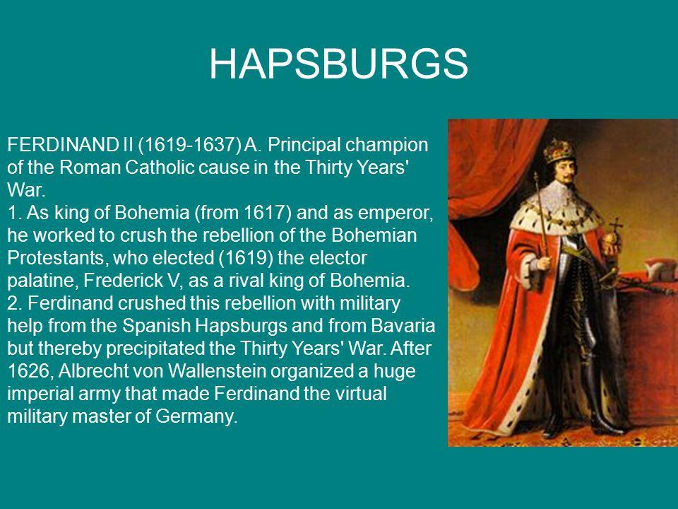 HAPSBURGS FERDINAND II (1619-1637) A.