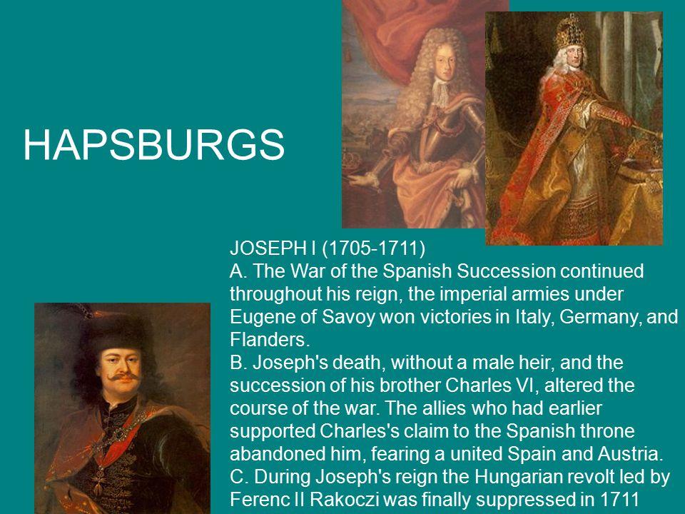 HAPSBURGS JOSEPH I (1705-1711) A.