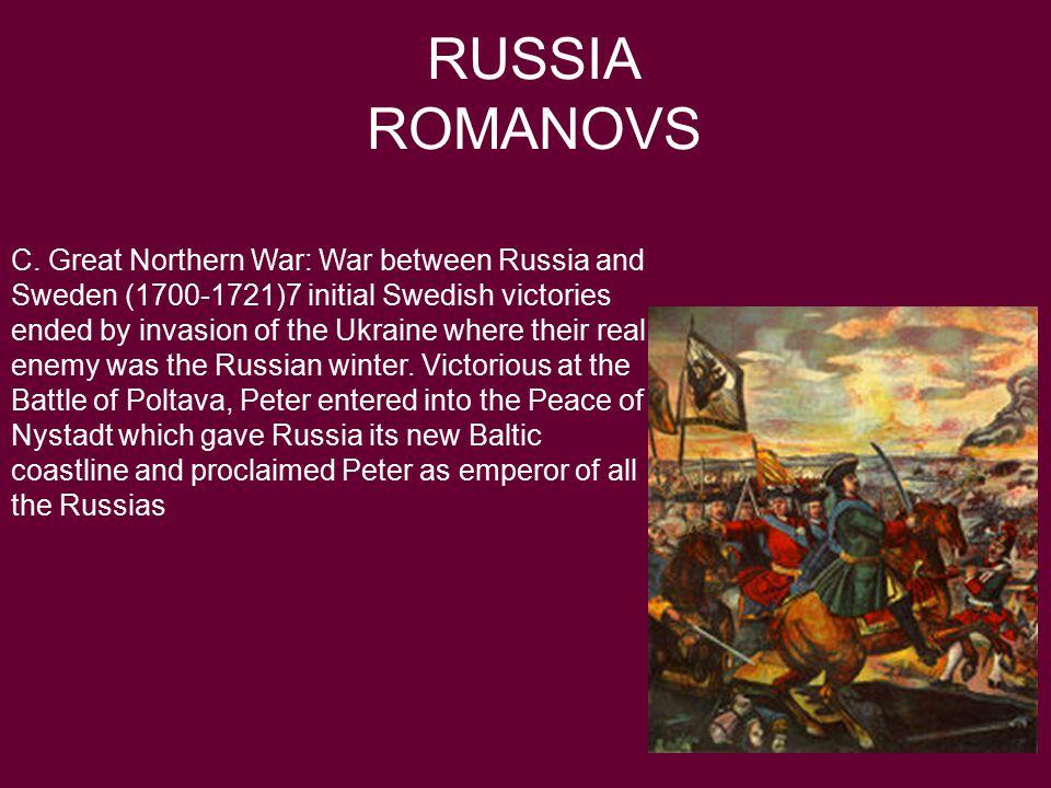 RUSSIA ROMANOVS C.