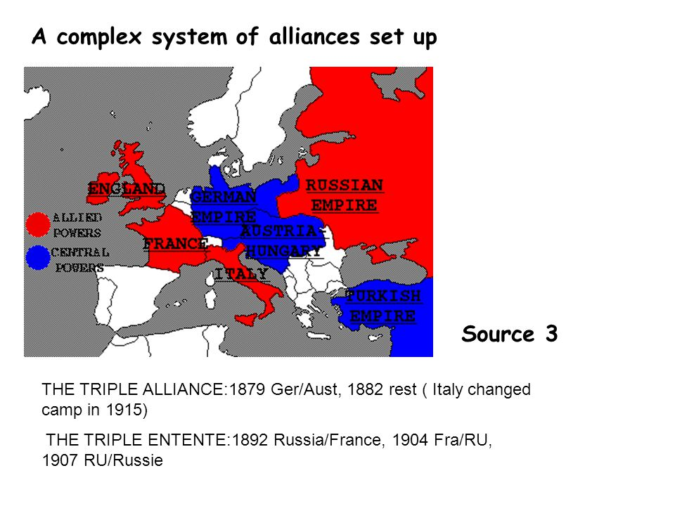 Answer: Here, England suggests two types of alliances: -One with France, saying: « see article 4 » -One with Belgium, saying: « see article6 » There are three reasons behind these suggestions: -First, France was a great power before WWI and a market for British products -Then, if France was defeated by Germany, the Germans could easily reach the UK by simply crossing the Channel: this is what is suggested in article 5 -To finish, like article 6 suggests, Belgium ;has to be protected because Belgium was neutral and Germany violated its neutrality.