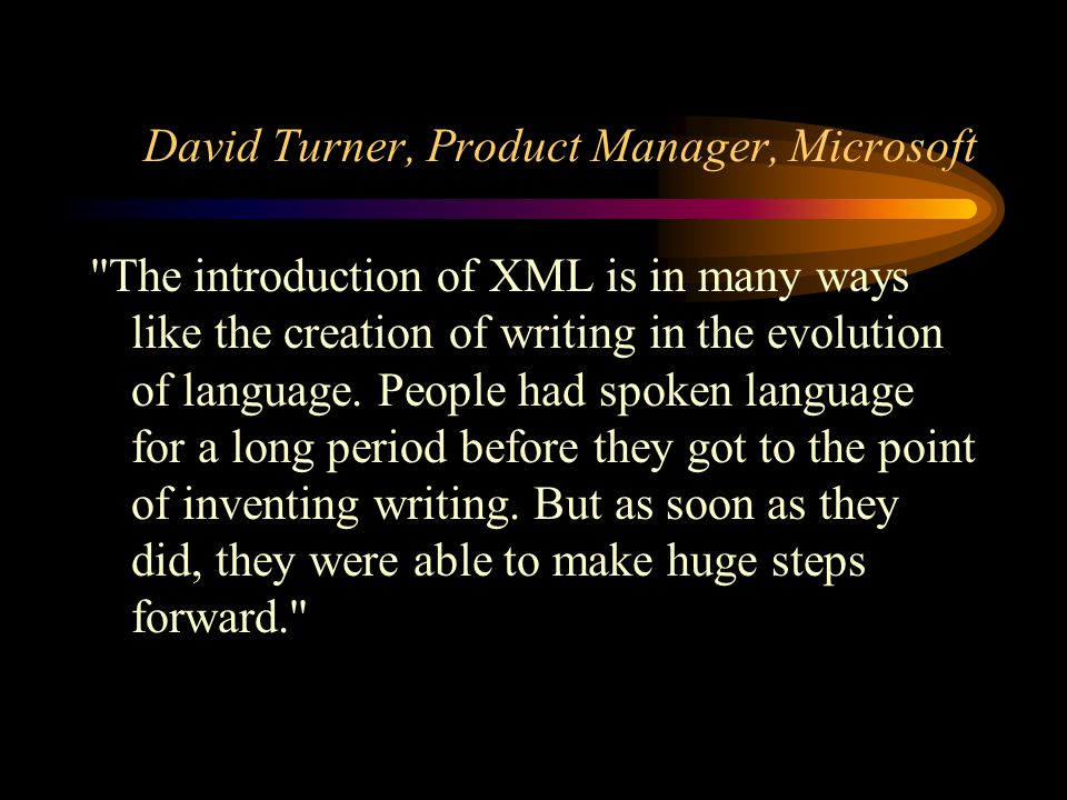 What is XML and what does it mean to e-commerce?