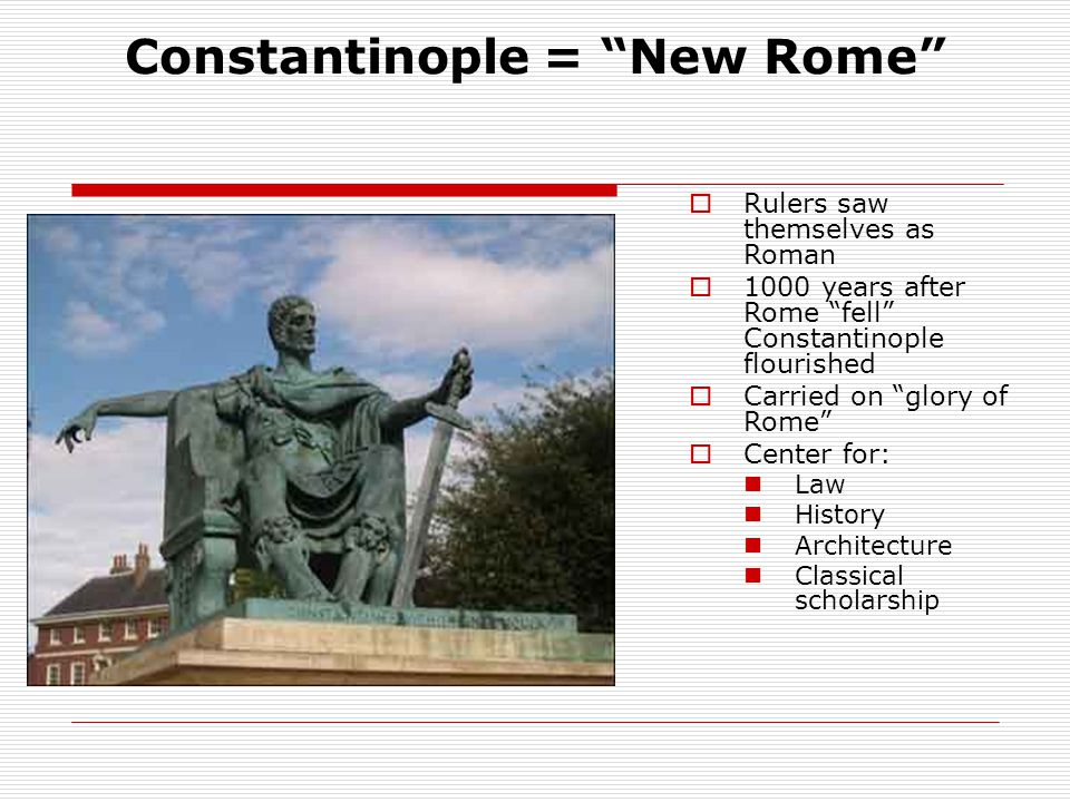 Justinian's Code  Reformed old Roman Law  Four Parts: The Code- Roman Laws that were still useful The Digest- quoted and summarized opinions of Rome's greatest legal thinkers The Institutes- textbook that instructed students on how to use the law The Novellae- New laws after 534 AD