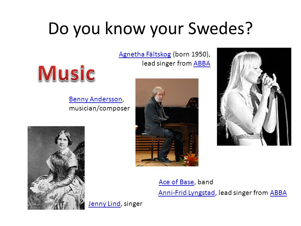 Do you know your Swedes.