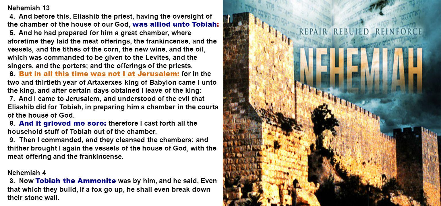 Nehemiah 13 4.