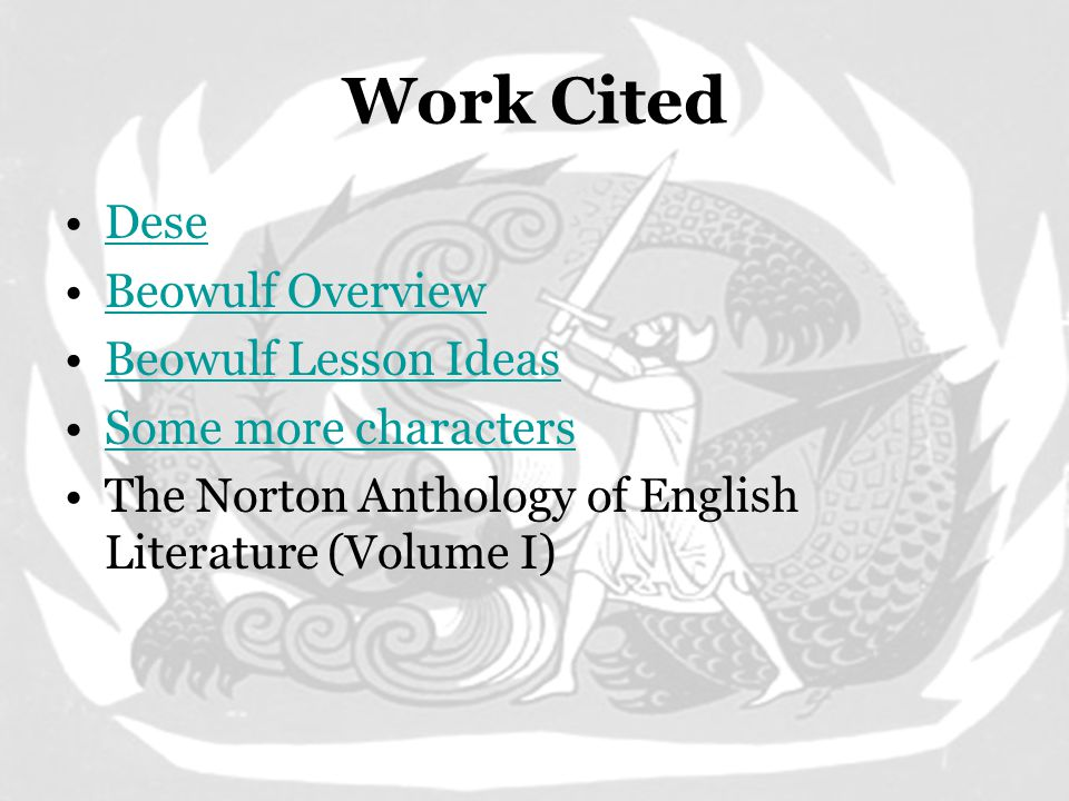 Just so you know… Tomorrow –Begin Reading and Beowulf Together –Ignore this slide if you are in Online Mythology.