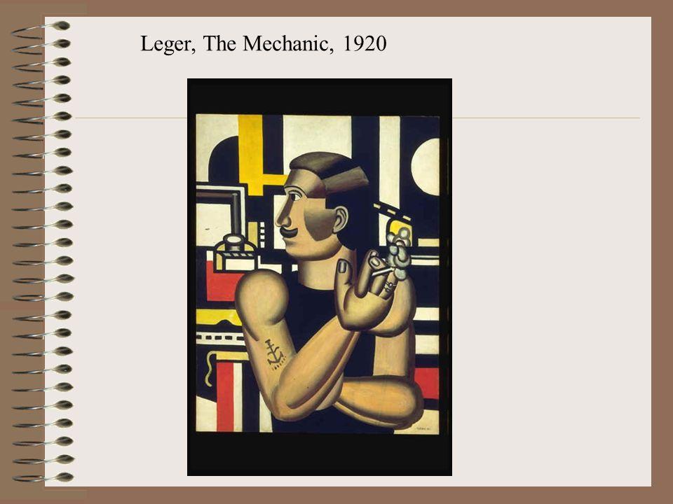 Leger, The Mechanic, 1920