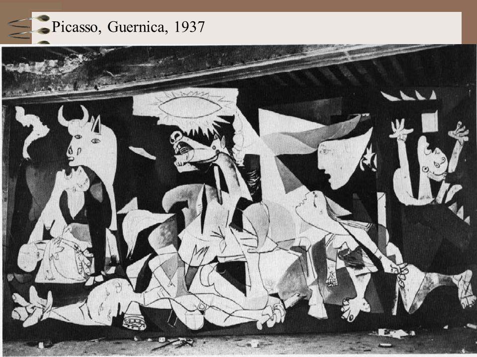 Picasso, Guernica, 1937