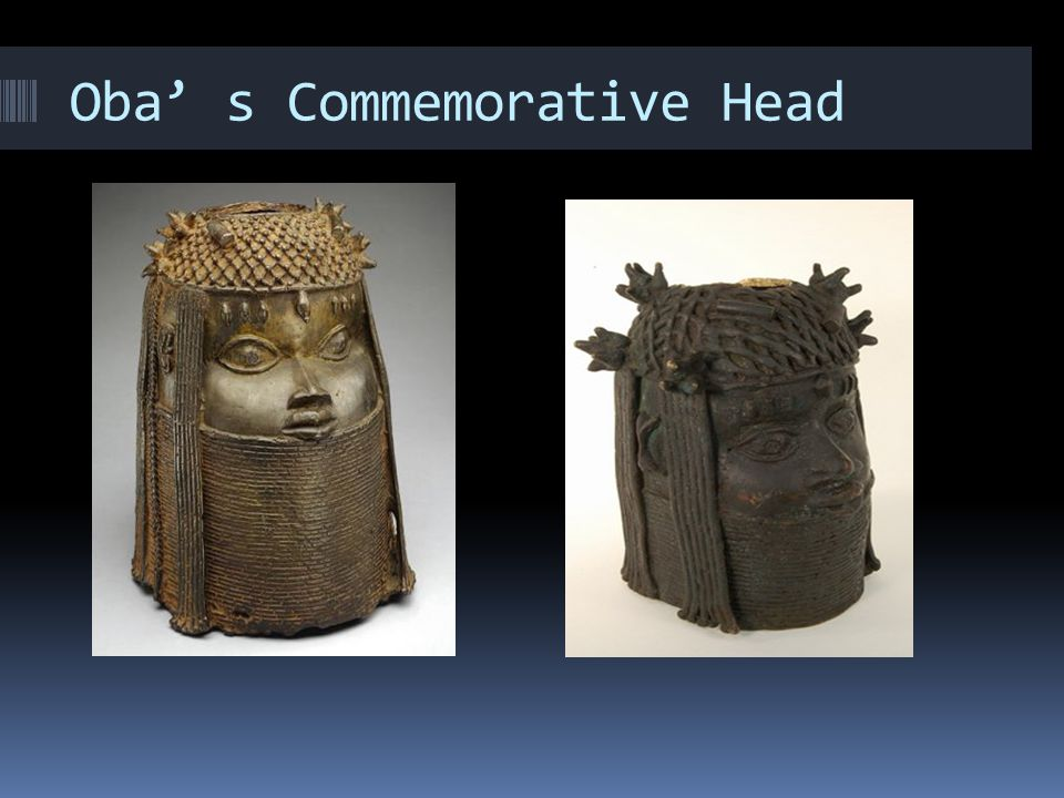 Oba' s Commemorative Head