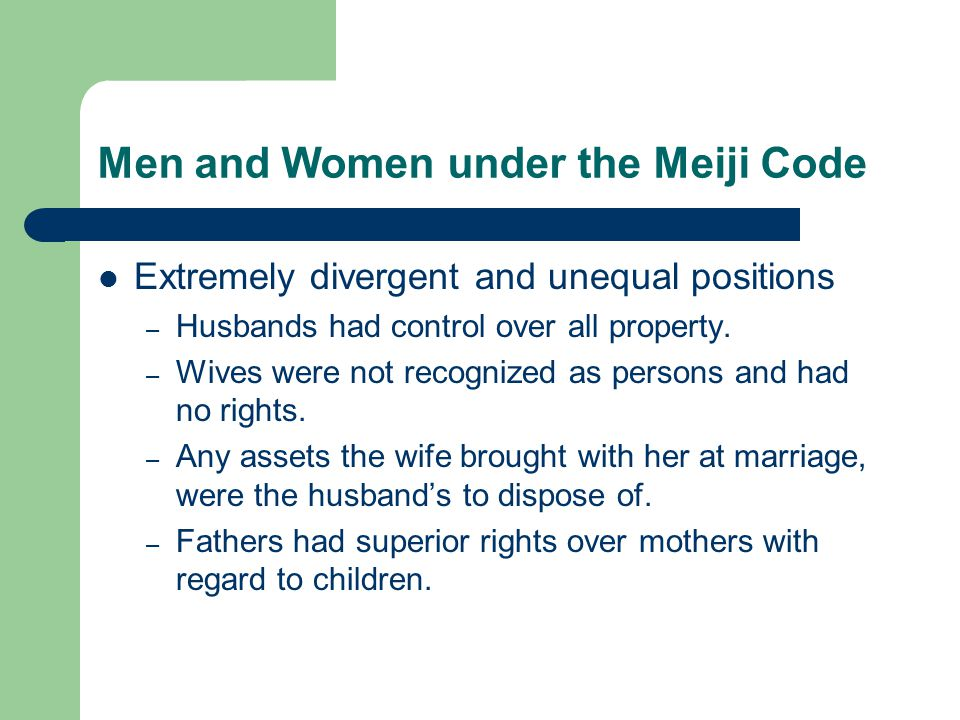 Marriage under the Family System Regarded as primarily functioning to perpetuate family line.