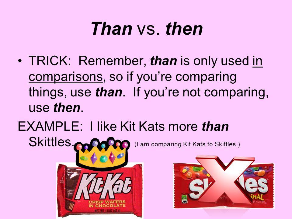 Than vs.