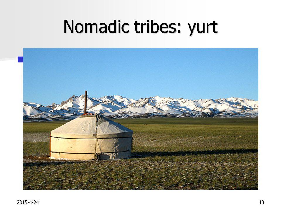 2015-4-2413 Nomadic tribes: yurt 0