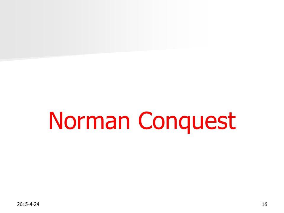 2015-4-2416 Norman Conquest