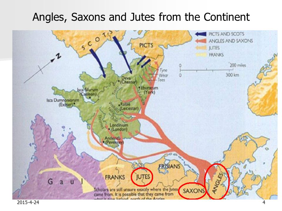 2015-4-244 Angles, Saxons and Jutes from the Continent 0