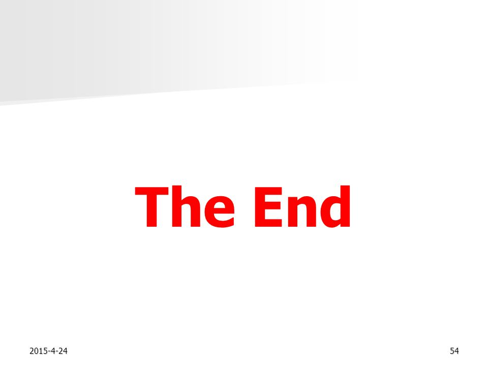 2015-4-2454 The End