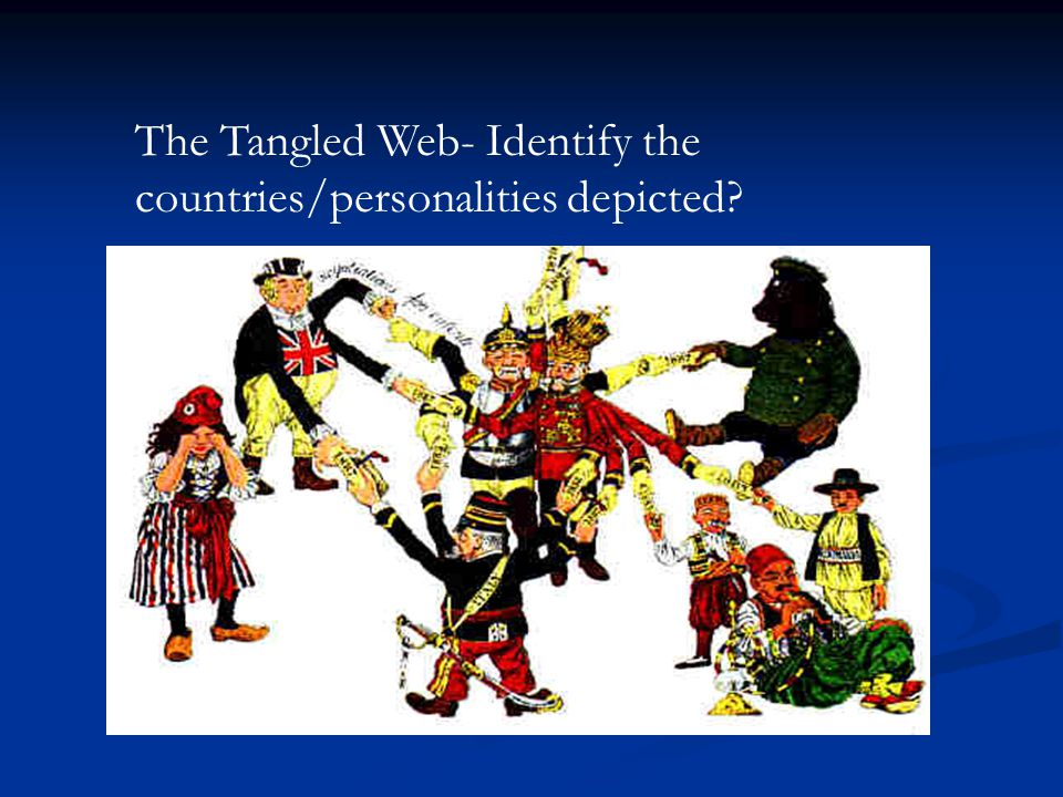 The Tangled Web- Identify the countries/personalities depicted?