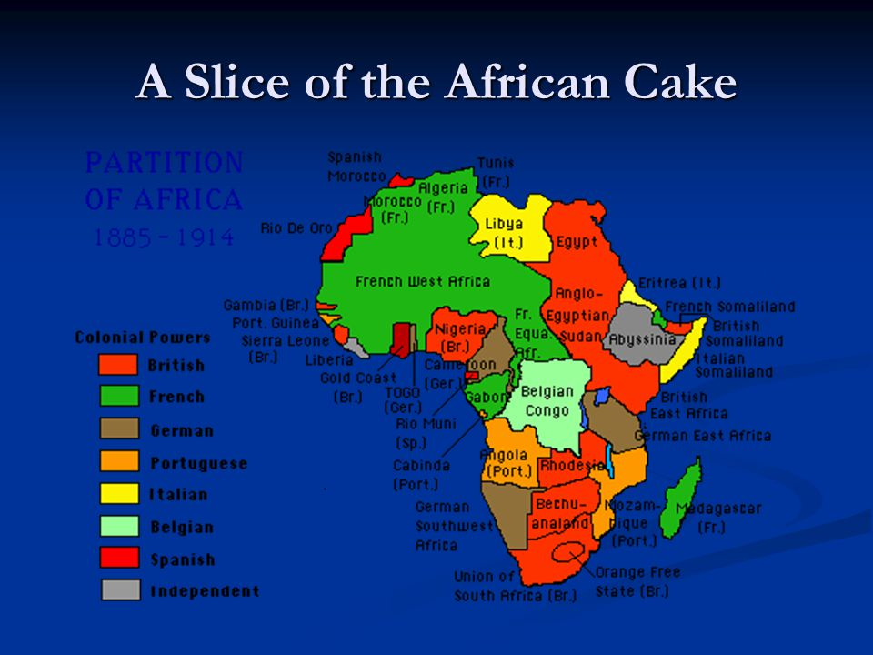 A Slice of the African Cake