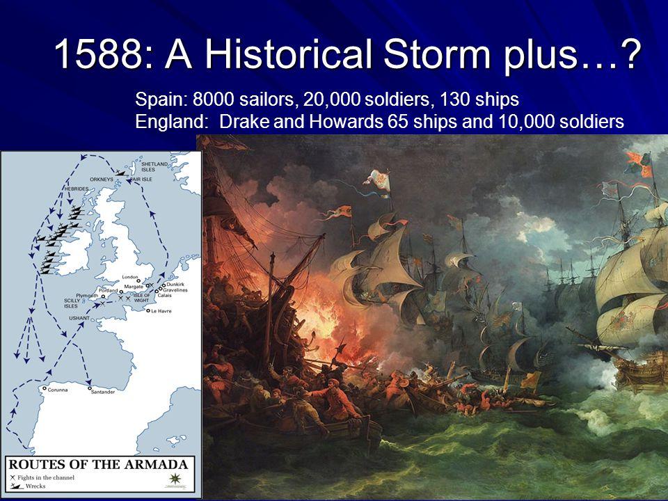 1588: A Historical Storm plus….