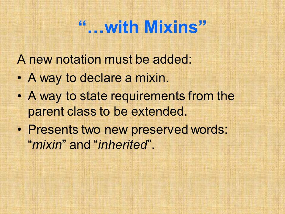 Unexpected Overriding Mixin M, method m M, class C, method m C The names of m M and m C are identical.