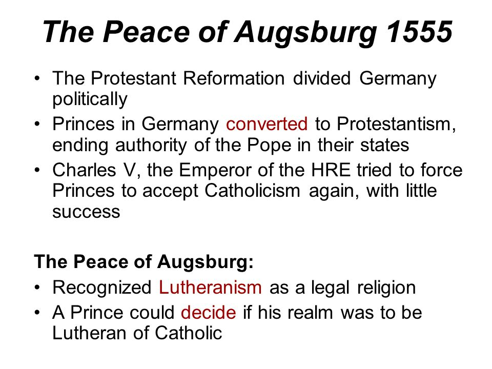 "A New Name Lutherans started using the name ""Protestant"" for those who protested papal authority"