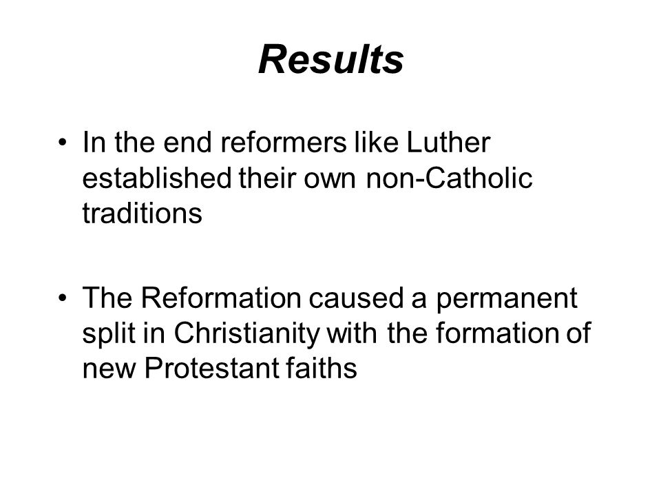 The Protestant Reformation Map