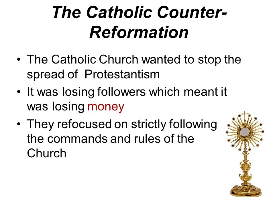 Lesson Objective SWBAT: 1)describe the impact of the Catholic Reformation on society and government actions 2)describe changing cultural values, tradi
