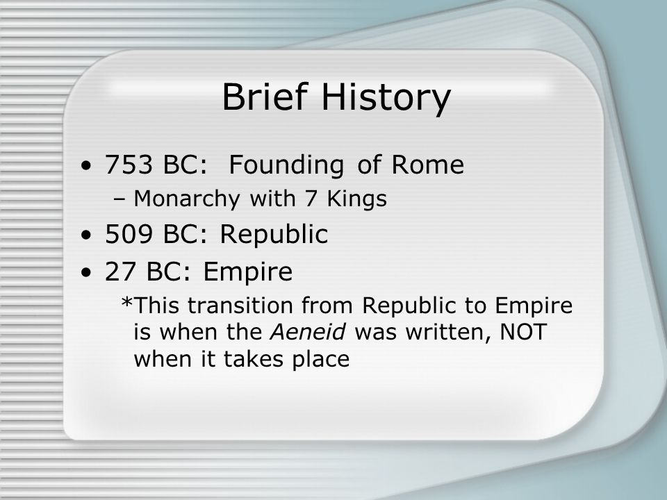 #1) The First Triumvirate Members: Caesar (broker) and Pompey & Crassus (power) Established in 60 B.C.